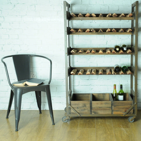 Hoxton Wood Wine Rack & Storage