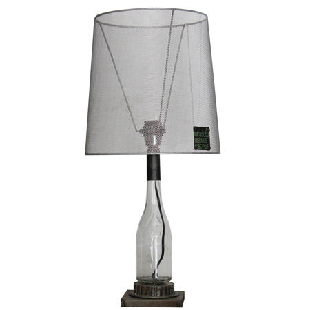 Hoxton Recycled Glass Table Lamp From Harley Lola