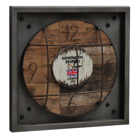 Hoxton Single Wall Clock