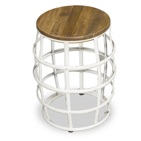 Hoxton Barrel Frame Stool