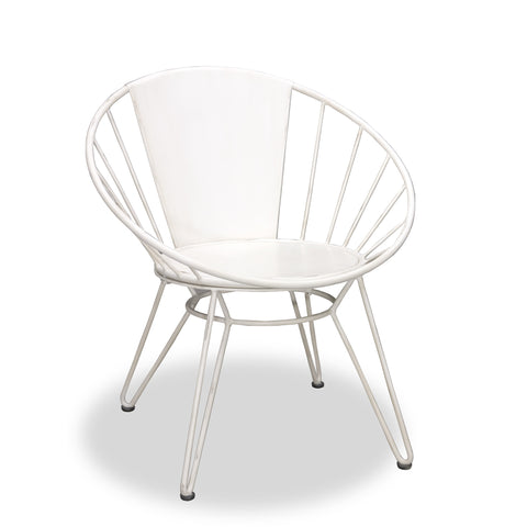 Hoxton Lazy Chair White by Harley and Lola
