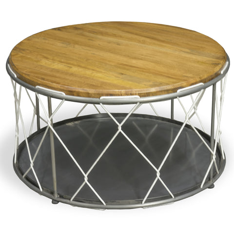 Hoxton Round Rope Table