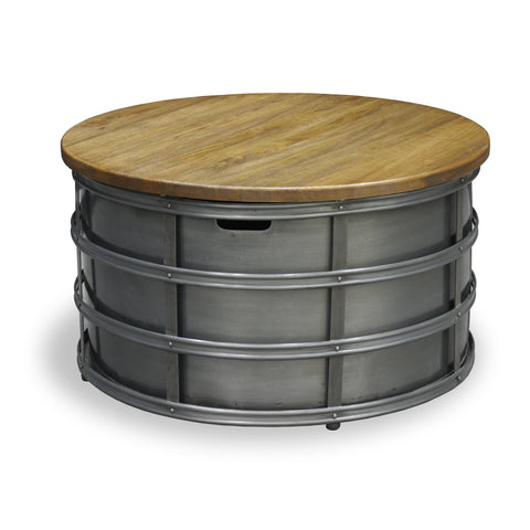 Hoxton Round Metal Coffee Table by Harley and Lola