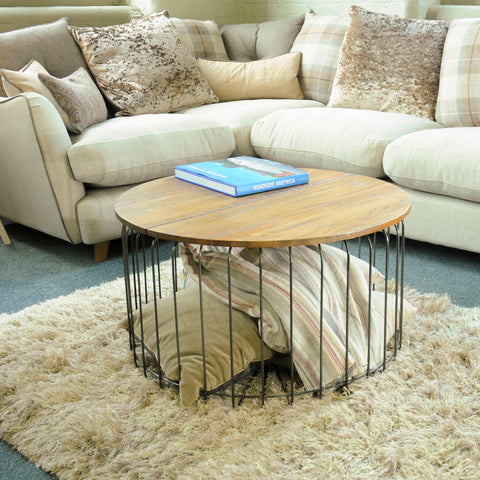 Hoxton Birdcage Round Coffee Table