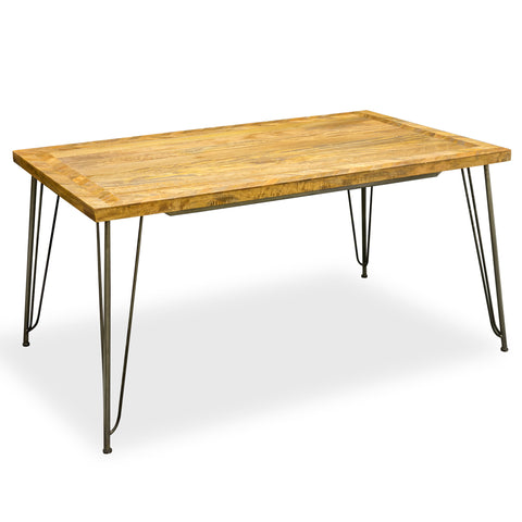 Hoxton Retro Hairpin Dining Table