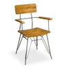 Hoxton Retro Hairpin Dining Armchair