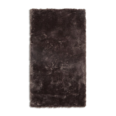 Plantation Rug Co. Footsie Dark Brown