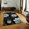 Fusion Black/Silver - - Rugs by Think Rugs available from Harley & Lola - 2
