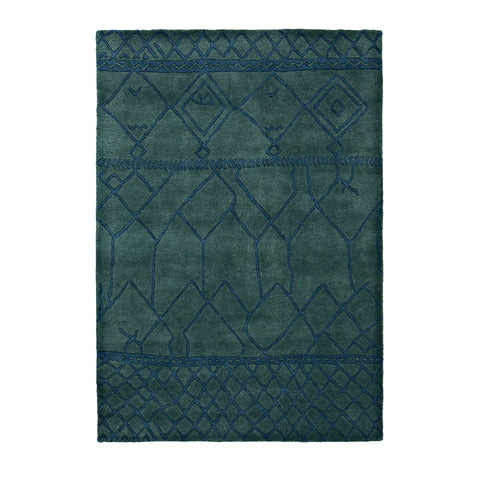 Fusion Green - - Rugs by Think Rugs available from Harley & Lola - 1