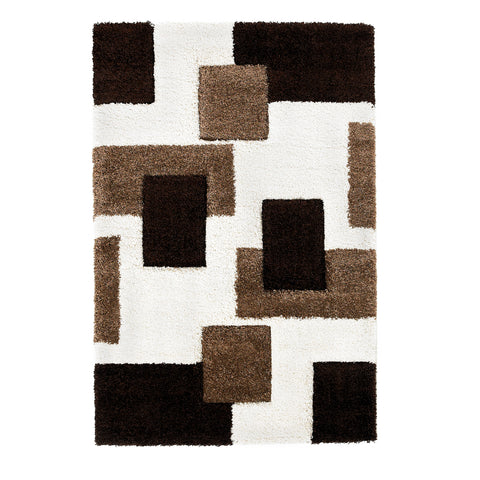 Think Rugs Fashion Ivory/Brown