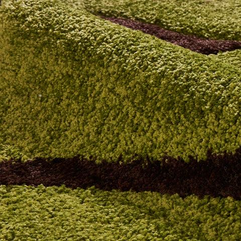 Think Rugs Fashion Green/Brown
