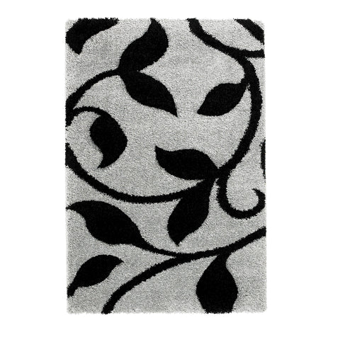 Think Rugs Fashion Grey/Black