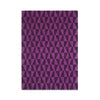 Plantation Rug Co. Geometric Triangle Purple