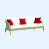 Grace 3 Seater Sofa -Platinum - Garden & Conservatory by Westminster available from Harley & Lola - 4