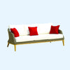 Grace 3 Seater Sofa -Sand - Garden & Conservatory by Westminster available from Harley & Lola - 3