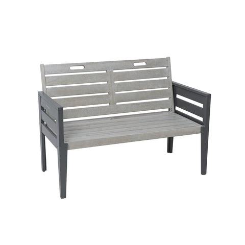 Grigio Two Seat Bench