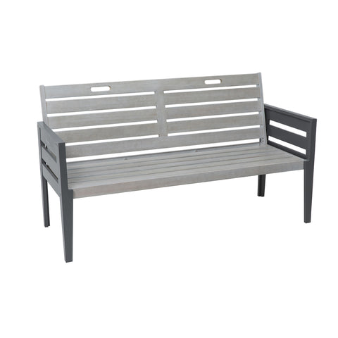 Grigio Three Seat Bench