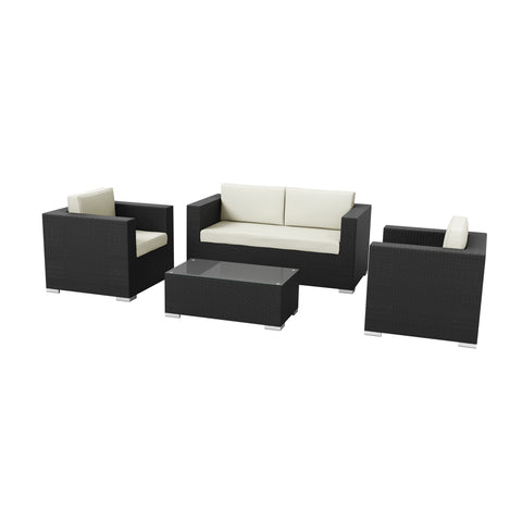 Hampton 4 Piece Sofa Set