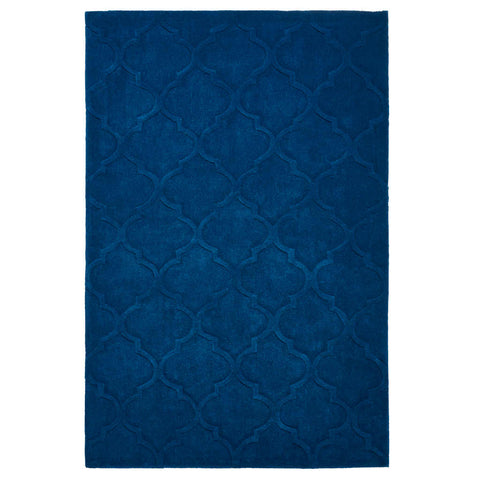 Think Rugs Hong Kong 8583 Navy