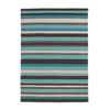 Think Rugs Hong Kong Blue Stripe