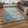 Think Rugs Hong Kong Blue/Grey