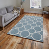 Think Rugs Hong Kong Light Blue