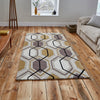 Think Rugs Hong Kong Beige/Yellow