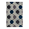 Think Rugs Hong Kong Grey/Navy
