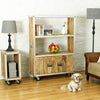 Roadie Chic Large Bookcase (with doors) - - Living Room by Baumhaus available from Harley & Lola - 6