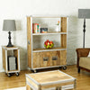 Roadie Chic Large Bookcase (with doors) - - Living Room by Baumhaus available from Harley & Lola - 4