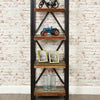 Urban Chic Open Alcove Bookcase - - Living Room by Baumhaus available from Harley & Lola - 5