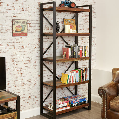 Urban Chic Large Open Bookcase - - Living Room by Baumhaus available from Harley & Lola - 1