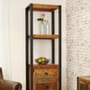 Urban Chic Alcove Bookcase (with drawers) - - Living Room by Baumhaus available from Harley & Lola - 2