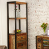 Urban Chic Alcove Bookcase (with drawers) - - Living Room by Baumhaus available from Harley & Lola - 4