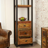 Urban Chic Alcove Bookcase (with drawers) - - Living Room by Baumhaus available from Harley & Lola - 5