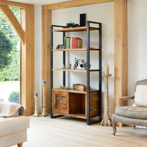 Baumhaus Urban Chic Large Bookcase with Storage