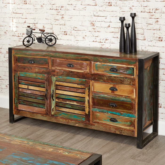 Urban Chic Large Sideboard - - Living Room by Baumhaus available from Harley & Lola - 1
