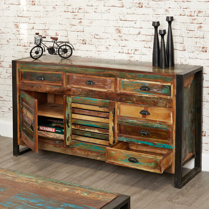 Urban Chic Large Sideboard - - Living Room by Baumhaus available from Harley & Lola - 2