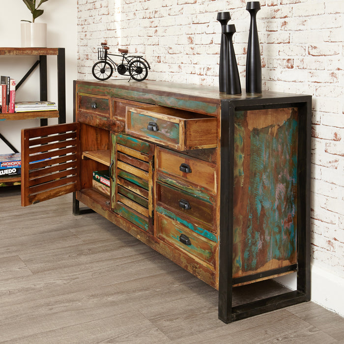 Urban Chic Large Sideboard - - Living Room by Baumhaus available from Harley & Lola - 5