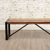 Urban Chic Small Dining Bench - - Living Room by Baumhaus available from Harley & Lola - 2