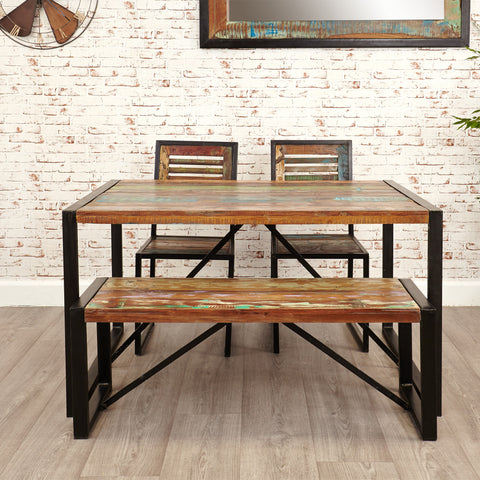 Urban Chic Small Dining Bench - - Living Room by Baumhaus available from Harley & Lola - 1