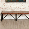 Urban Chic Large Dining Bench - - Dining Room by Baumhaus available from Harley & Lola - 2