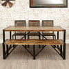 Urban Chic Large Dining Bench - - Dining Room by Baumhaus available from Harley & Lola - 1
