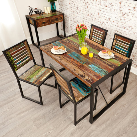 Urban Chic Small Dining Table - - Living Room by Baumhaus available from Harley & Lola - 1