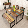 Urban Chic Small Dining Table - - Living Room by Baumhaus available from Harley & Lola - 2