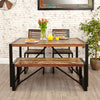 Urban Chic Small Dining Table - - Living Room by Baumhaus available from Harley & Lola - 3