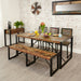 Urban Chic Large Dining Table - - Dining Room by Baumhaus available from Harley & Lola - 1