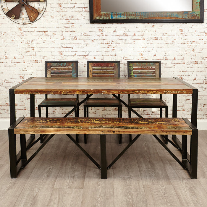 Urban Chic Large Dining Table - - Dining Room by Baumhaus available from Harley & Lola - 3