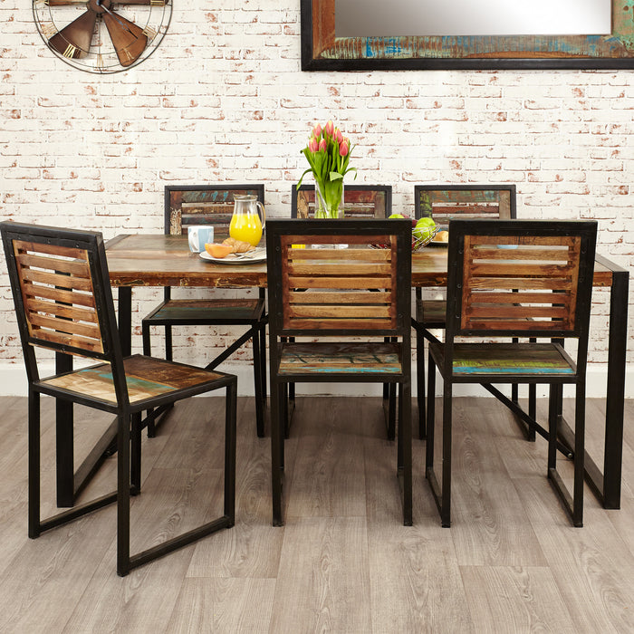 Urban Chic Large Dining Table - - Dining Room by Baumhaus available from Harley & Lola - 4