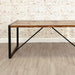 Urban Chic Large Dining Table - - Dining Room by Baumhaus available from Harley & Lola - 5